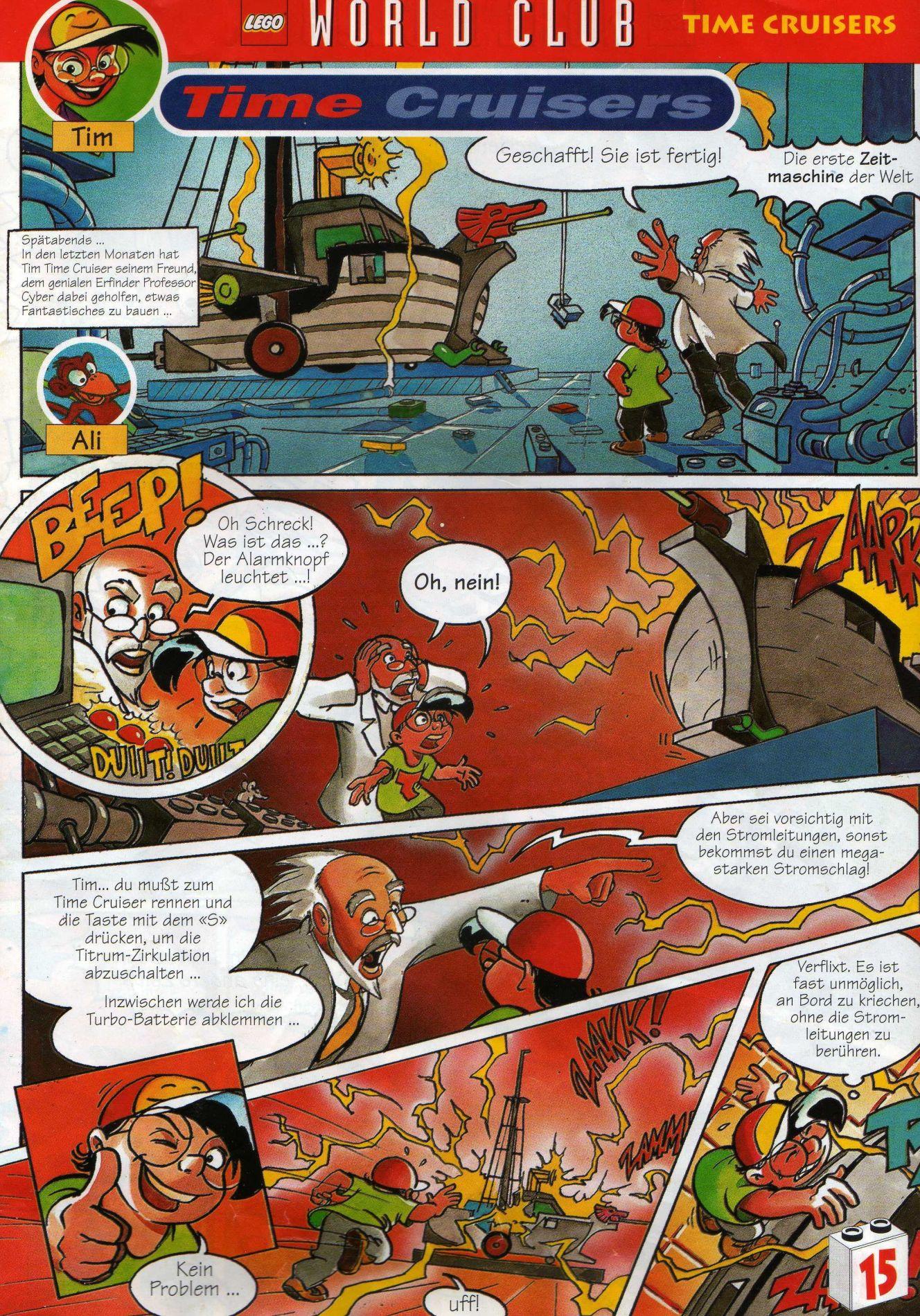 Time Cruisers Comic