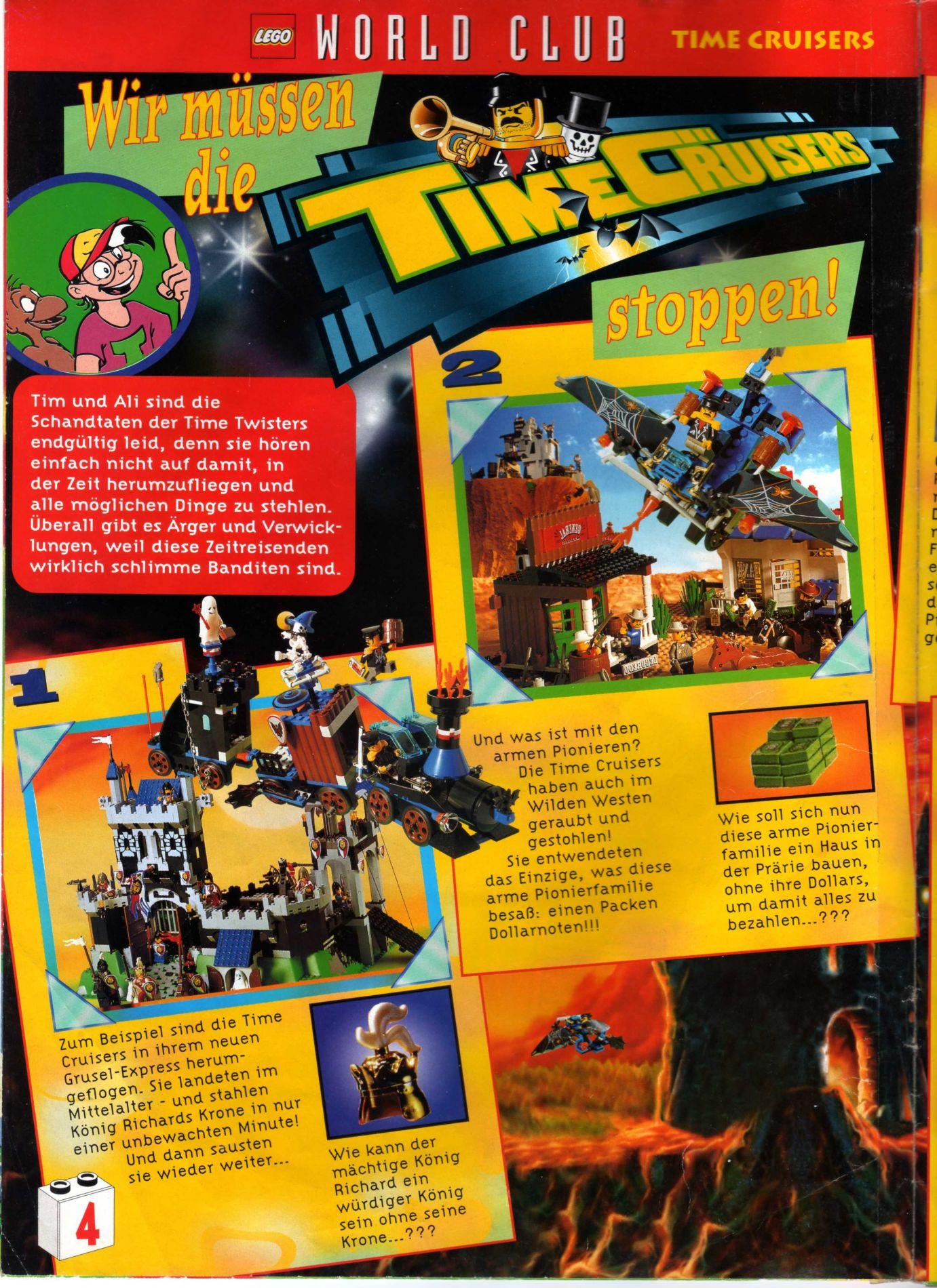 Lego World Club 1997 Issue 2 Rock Raiders United