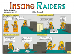 Insane Raiders No. 22 - Idle Games
