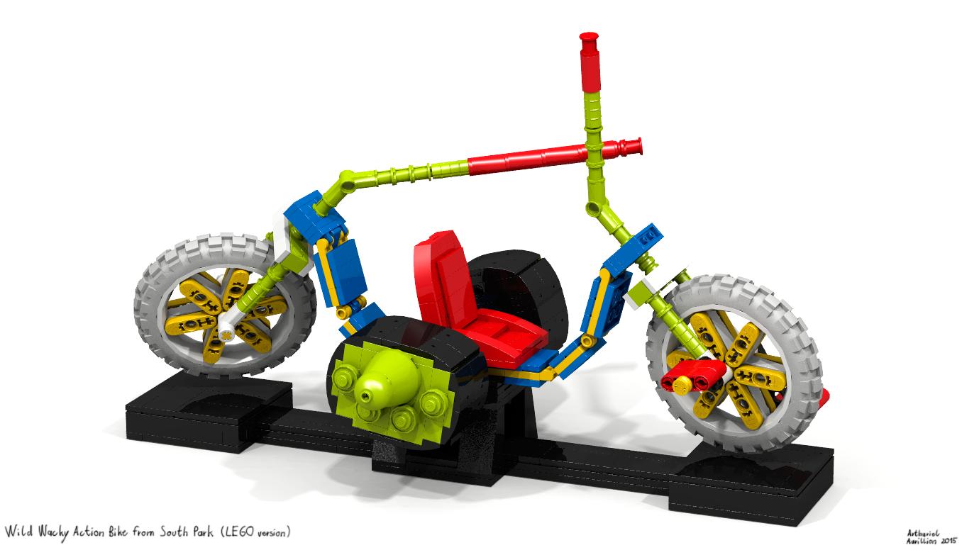 LEGO Wild Wacky Action Bike