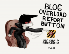 Blog Overload Report button
