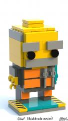 Chief (Brickheadz version)