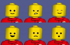 Hi-Res Default Character Reskin - Expressions [WIP]