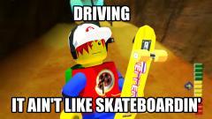 """""""It ain't like skateboarding"""""""
