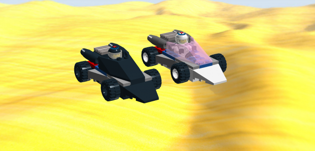 Rocket Racer LR1 VS LR2