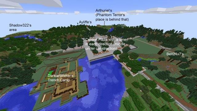 RRU Minecraft Server - Central Area 2017-05-25