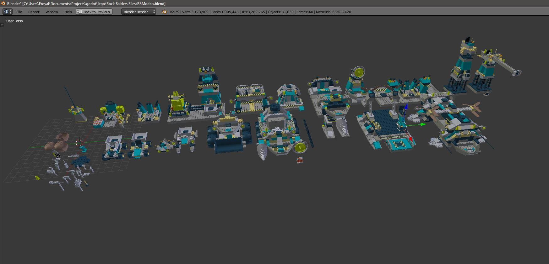 Recreating High poly LRR buildings and vehicles - MOCs