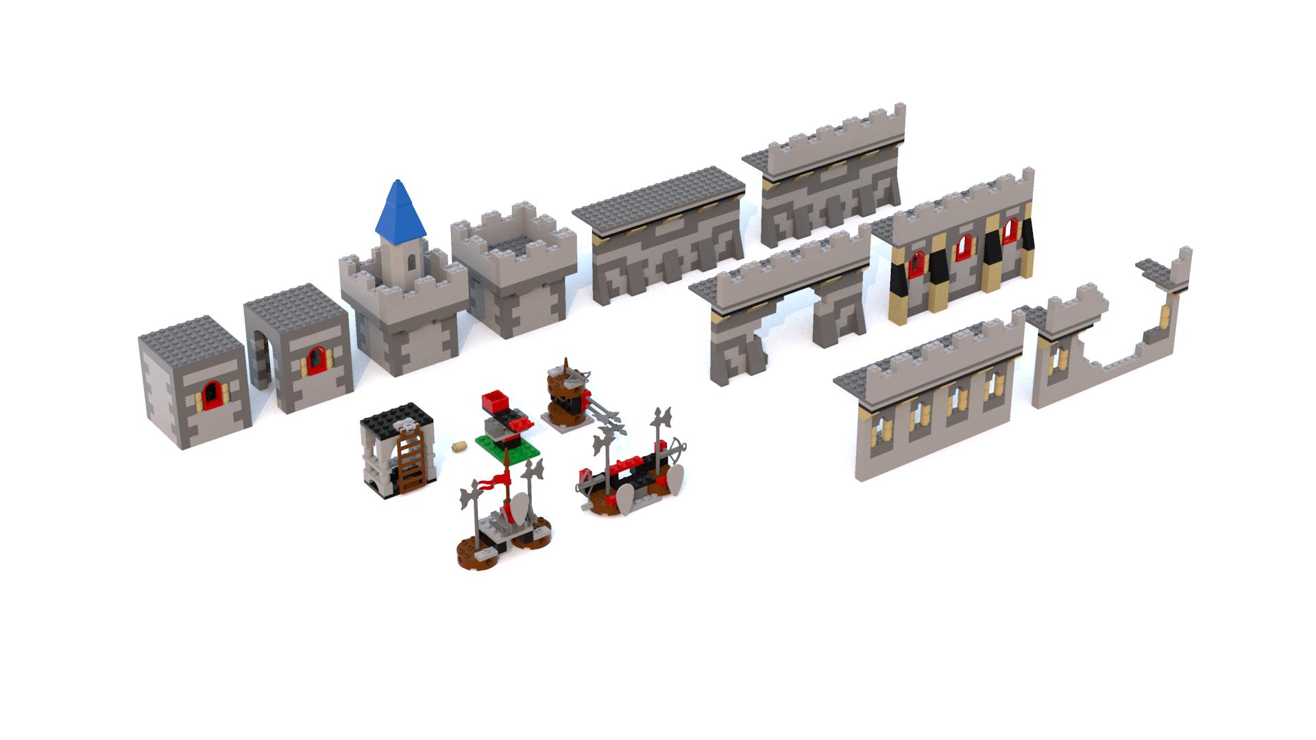 Creator Knights' Kingdom Models