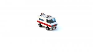 Island Xtreme Stunts Ambulance LDD Model