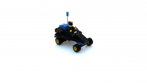 Island Xtreme Stunts Police Car LDD Model