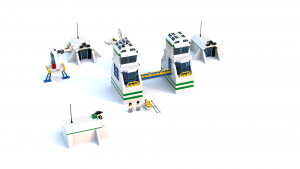 Lego Racers 2 Sandy Bay Science Labs (Launch Zone) LDD Model