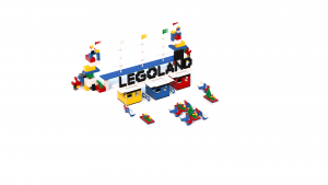 LEGOLAND Legoland Park Entrance LDD Model