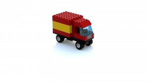Lego Racers 2 Mike The Postman's Truck LDD Model