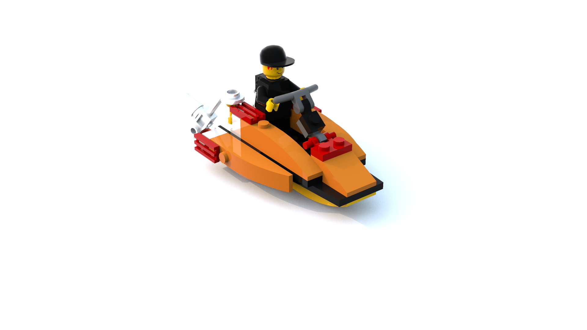 Island Xtreme Stunts Pepper's Jet Ski LDD Model