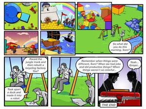 LEGO Fever Comic