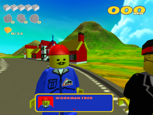 LEGO Racers 2 - Classic Fred