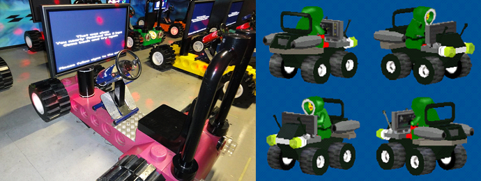 Custom cars from Lego Racers 2