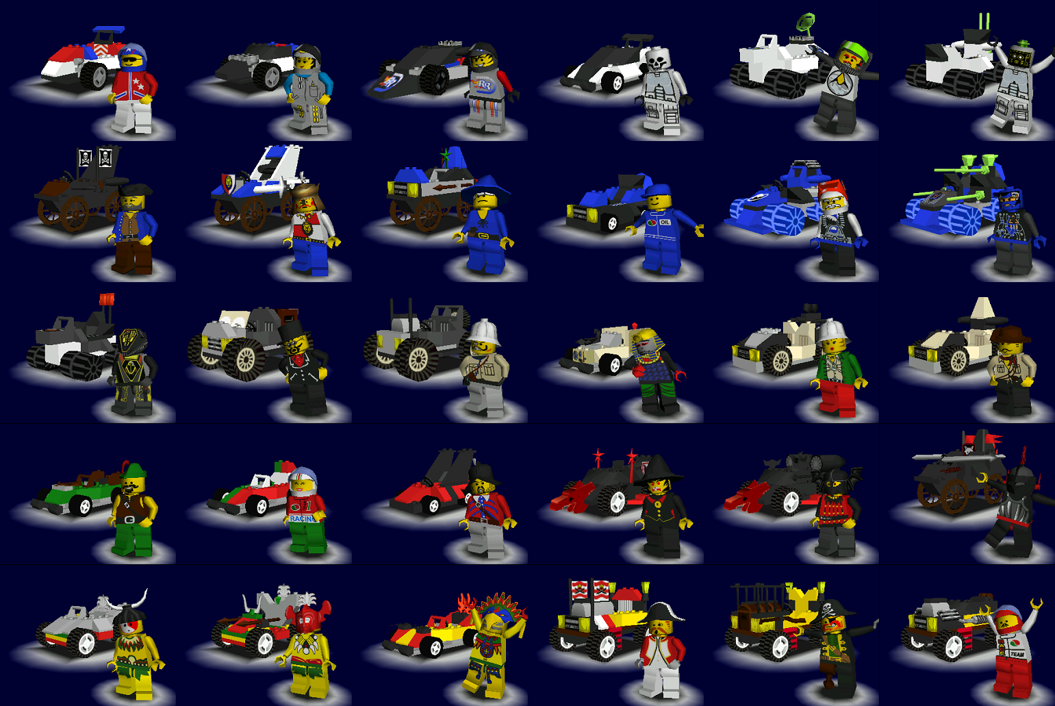 All Racers 10