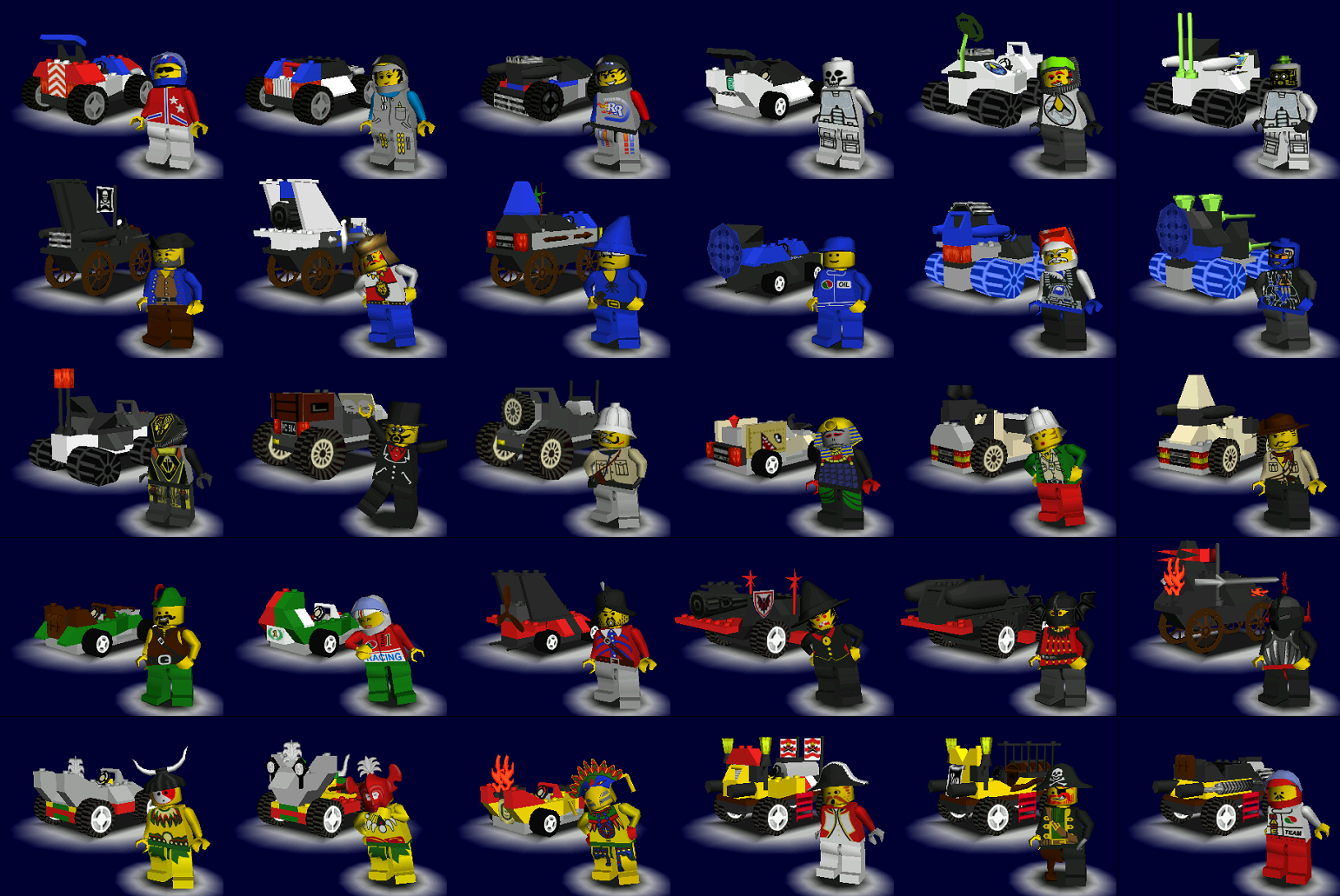 All Racers 9