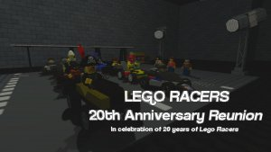 Lego Racers 20th Anniversary Reunion
