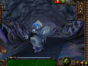 Ice Monster from first-person