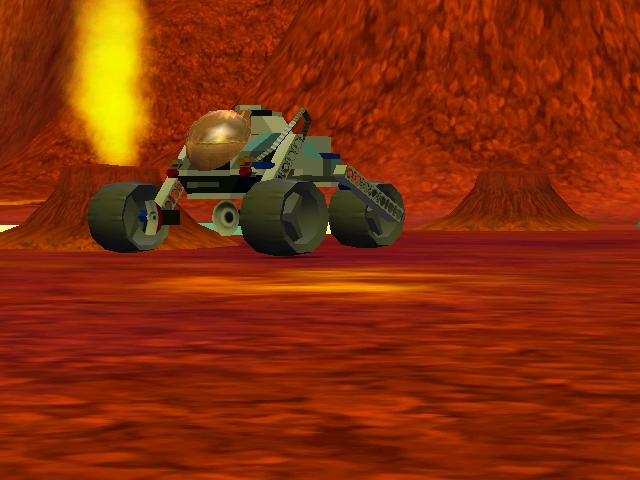 Drivable Mars three wheeler LEGO Racers 2