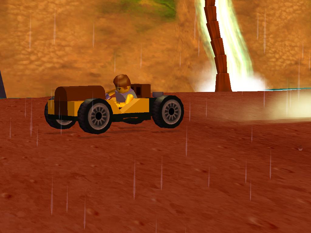 Captain Redbeard's Car LEGO Racers 2