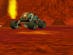 Drivable Mars three wheeler LEGO Racers 2