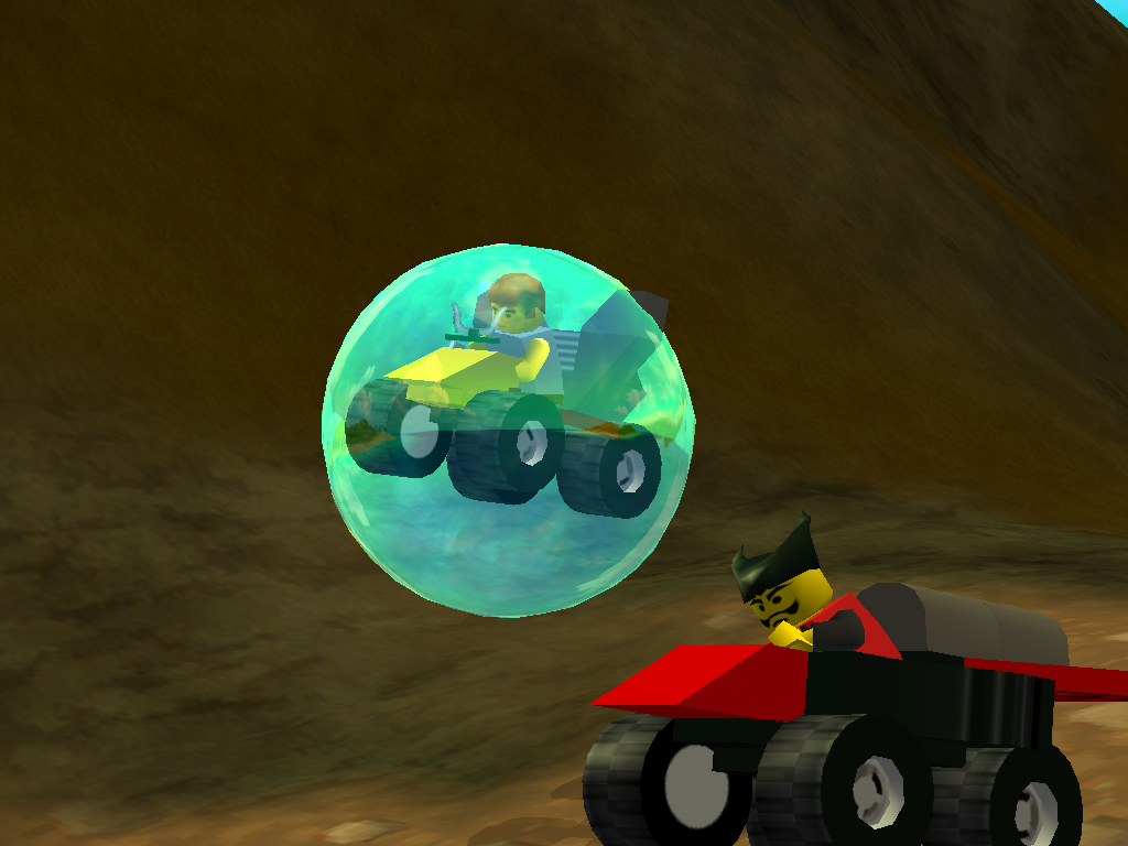 LEGO Racers 2 - Basil In his Car