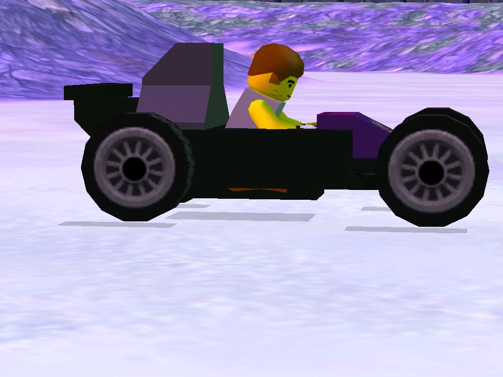 LEGO Racers 2 - Lego Island Race Car Remade