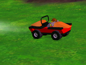 LEGO Racers 2 - Island Xtreme Stunts Stunt Car Attempt