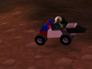 LEGO Racers 2 - Veronica Voltage's Car Update 3