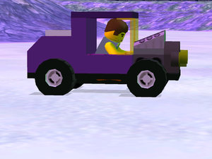 LEGO Racers 2 - Purple Ratrod