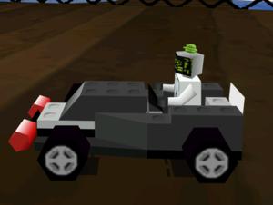 LEGO Racers car close-ups
