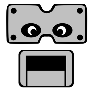 Brickster Bot's Head Front (Game)