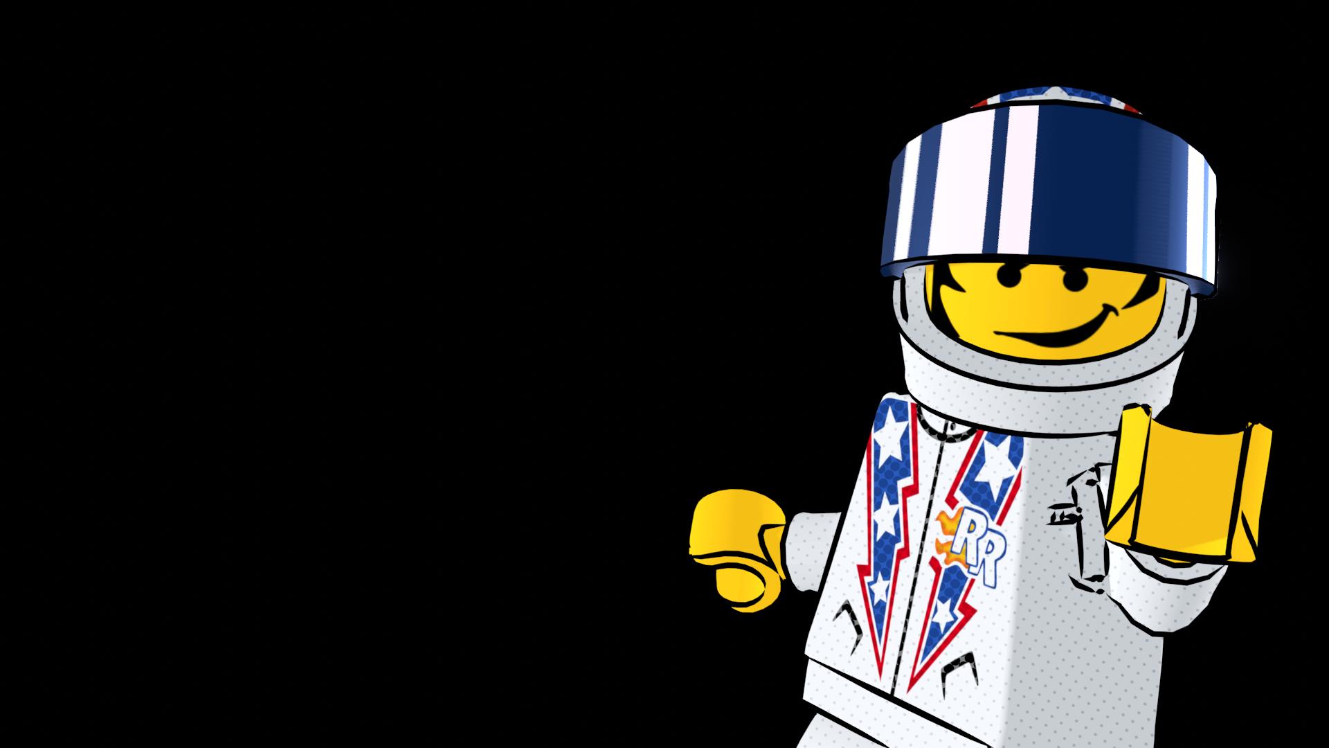 Rocket Racer Poser