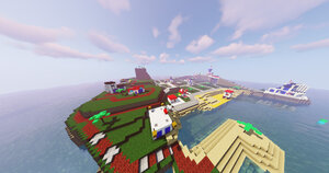 LEGO Island with texture pack